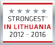 Strongest in Lithuania