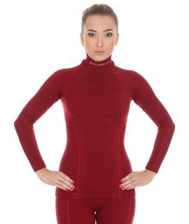 Moteriški Wool marškinėliai ilgomis rankovėmis
